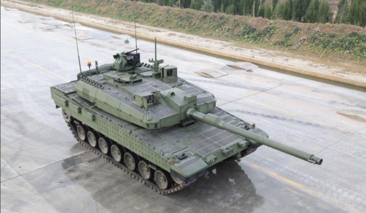 İşte müthiş özellikleriyle 'Altay Tank'ı