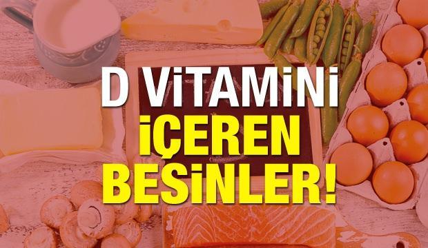 <p>Normalde vücut kendi kendine bile olsa d vitamini üretebilir. Ancak ışıksız ortamlarda bulunma ve dengesiz beslenme D vitamini eksikliğine sebebiyet verebilmektedir. Bu nedenle d vitamini yüksek olan gıdalardan bolca tüketmek gerekir. D vitamini içeren besinlerin hangileri olduğunu bilmiyorsanız işte sizler için hazırlamış olduğumuz D vitamini içeren besinler…</p>