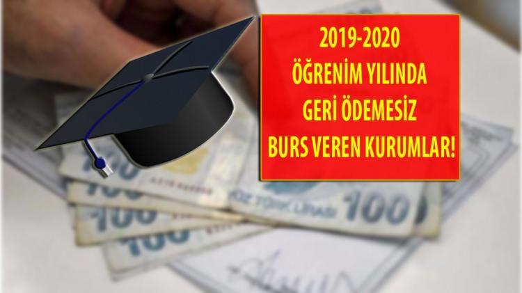 <p>6) İstanbul Sanayi Odası Vakfı</p>  <p><br /> Dilekçe ile burs başvurularını alan İstanbul Sanayi Odası Vakfı, belirlediği uygun adaylara geri ödemesiz burs imkanı sağlıyor. Başvuruları ise Eylül ayında alıyor.</p>  <p></p>