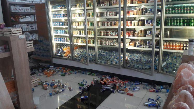 <p>Denizli'de 6 şiddetinde bir deprem meydana geldi. İşte deprem sonrası ilk fotoğraflar...</p>