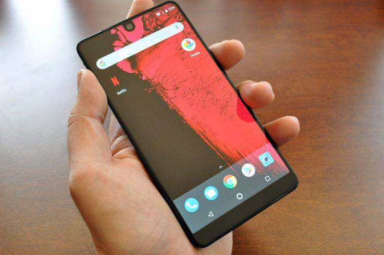 <p>– Essential Phone</p>