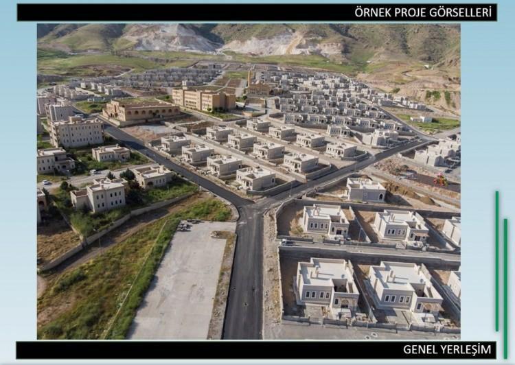 <p>Plana göre Suriye'de yabancı fonlarla yeni yerleşim alanları oluşturulacak. Maliyeti 23,5 milyar euroyu bulacak bu alanlarda 200 bin konut yapılması ve 1 milyon kişinin yaşaması planlanıyor</p>  <p></p>
