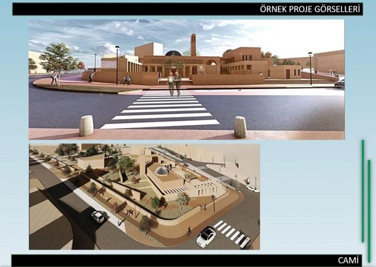 <p>Toplamda 11 cami, 9 okul, 2 kapalı spor salonu, 5 gençlik merkezi kurulacak.</p>