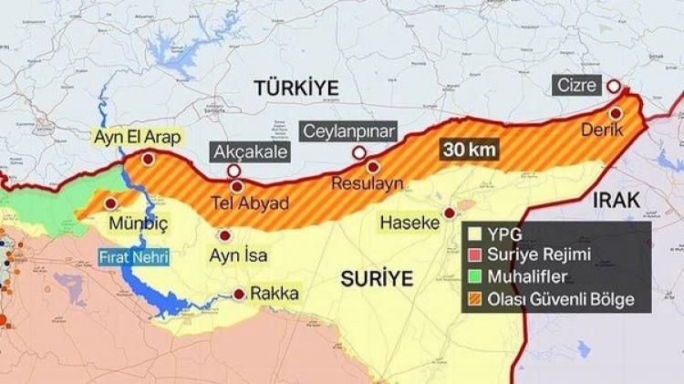 """<p><span style=""""color:#FFD700"""">2- <strong>""""Enerji koridoru"""" adı altında kurulmak istenen """"terör koridoruna"""" engel olmak</strong></span></p>  <p>Terör örgütü PKK/PYD-YPG:</p>  <p>Suriye'nin enerji kaynaklarından bir kısmını işgal etmiş durumda</p>  <p>Gasp ettiği bu petrol ve gazı """"enerji koridoru"""" adı altında bir """"terör koridoru"""" kurarak Hatay üzerinden Akdeniz'e geçirmek istiyor</p>  <p>Türkiye, bu operasyonla terör koridorunun oluşmasını engelleyerek Hatay'ın güvenliğini de kalıcı olarak sağlamak istiyor</p>"""