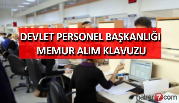 Devlet Personel Başkanlığı (DPB) memur alım klavuzu yayınlandı!