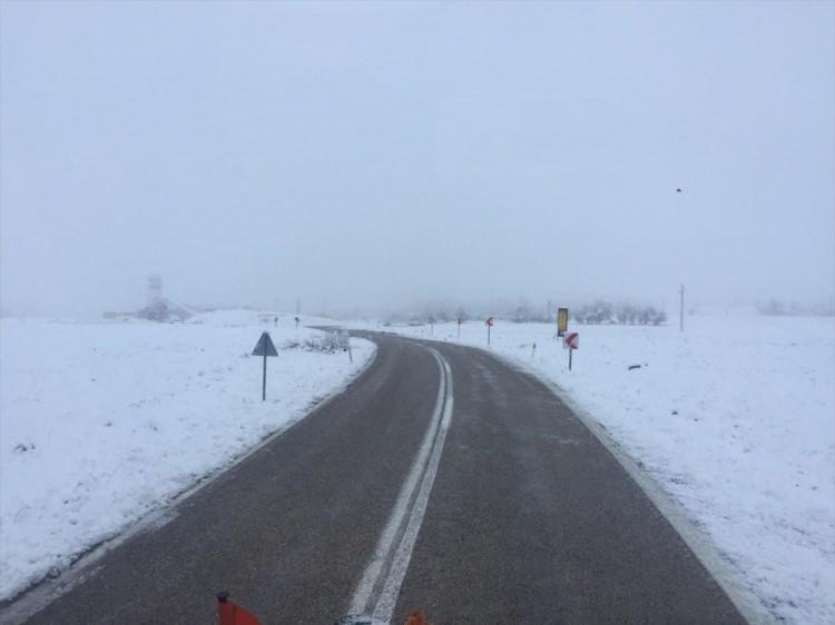 <p><strong>Aksaray</strong></p>  <p>Yurt genelinde etkisini gösteren yağışlar Aksaray'da yüksek kesimlerde kar yağışı ile devam ediyor.</p>