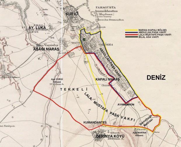 """<p>Bölgenin 1915 yılından itibaren tapular çıkarılarak Rumlara verildiğini belirten Atun şunları kaydetti: """"Rumlar burası bizim diyor. Ancak 2001 yılında 176 ve 177 numaralı Gazimağusa Mahkemesi, kapalı Maraş topraklarının Abdullah ve Lala Mustafa Paşa Vakıflarına ait olduğuna dair bir karar verdi."""" Türk yönetiminin Maraş'ta yatırım yapan Rumlara çağrıda bulunduğunu söyleyen Atun, """" Rumlara 'neresi size aitse buyurun gelin çalıştırın, biz mülkiyet konusu hallederiz' denildi. Bu ilk çağrı değil 9. çağrıdır. 1977'den günümüze kadar Rauf Denktaş'tan başlamak üzere 8 çağrı yapıldı. Rumlar bu çağrıların hepsini reddetti"""" dedi.</p>"""