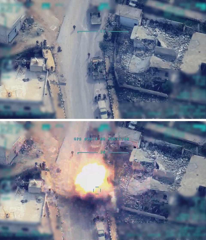 """<p>Milli Savunma Bakanı Akar: """"Hain saldırı sonrasında uçak, SİHA ve kara ateş destek vasıtalarımızla 200'ü aşkın rejim hedefi ağır ateş altına alındı.""""</p>  <p></p>"""