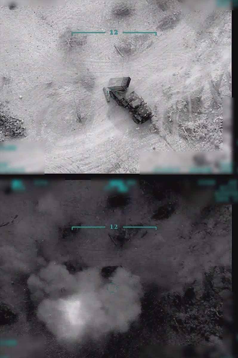 <p>Akar:Atışlar sonucu 5 helikopter, 23 tank, 23 top ve obüs, bir SA-17, bir SA-22 hava savunma sistemi, 309 rejim askeri etkisiz hale getirildi.</p>