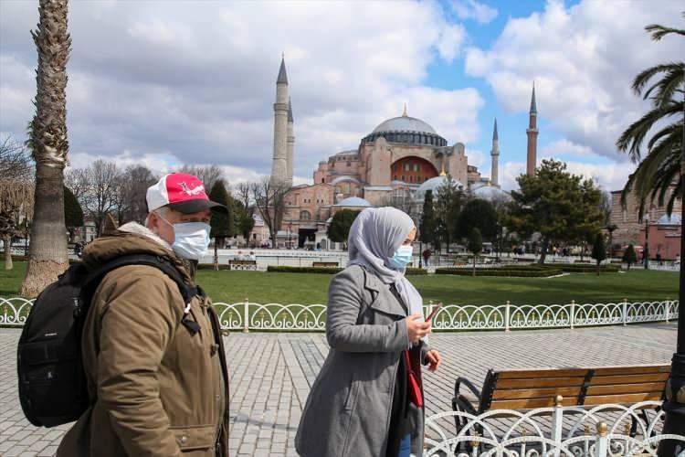 <p>İstanbul'un sakin görüntüsü</p>