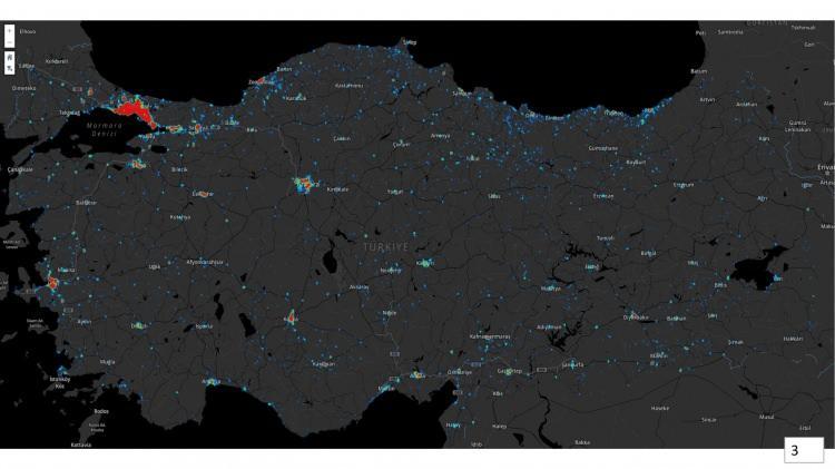 <p><strong>CORONA VİRÜS VAKALARININ YOĞUN OLDUĞU İLLER AÇIKLANDI!</strong></p>  <p></p>  <p>Türkiye'nin en çok Corona vürüs vakası görülen illerin haritası Sağlık Bakanı Fahrettin Koca, tarafından düzenlenen Bilim Kurulu Toplantısı sonrası açıklandı. Yayınlanan haritada İstanbul, Ankara, İzmir, Körfez, Kocaeli, Sakarya ve Zonguldak haritası üzerinde görülen yoğunluk dikkatlerden kaçmadı. Corona virüs vakalarının en çok görüldüğü İstanbul'da ise vakaların Marmara'ya, boğaza kıyısı olan ve nüfus yoğunluğunun yüksel olduğu ilçelerde yoğunluk gösteriyor. Peki İstanbul'da hangi ilçelerde yoğun Corona virüs vakası var? İşte Bakan Koca tarafından açıklanan harita...</p>  <p></p>
