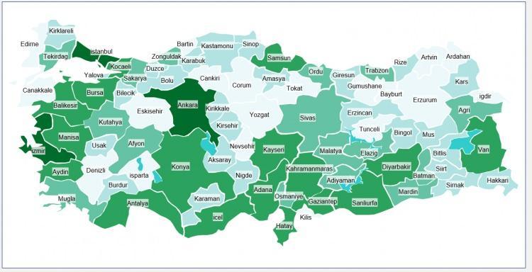 <p>Türkiye'de herkes kendi memleketinde yaşasaydı illerin nüfusu nasıl olurdu? İşte şaşırtan sonuçlar...</p>