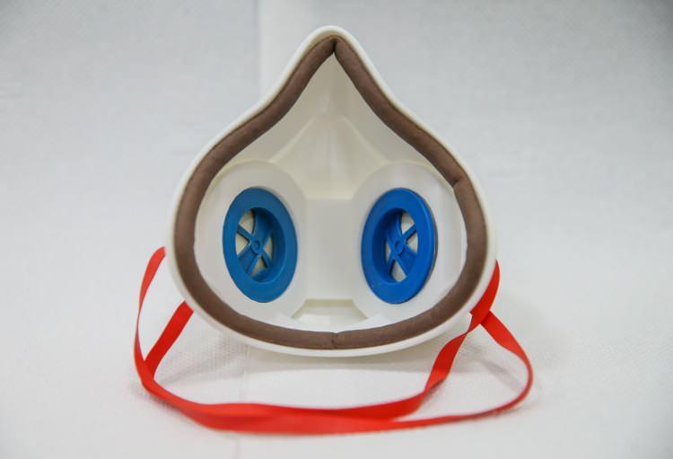 Bu maske dünyada bir ilk! Yerli üretildi