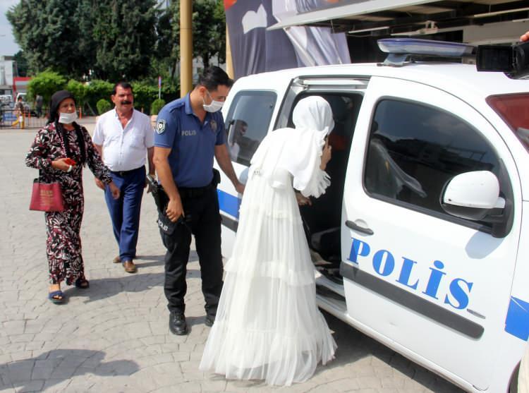 Gelin 'beni kurtarın' dedi, polis nikahı bastı!