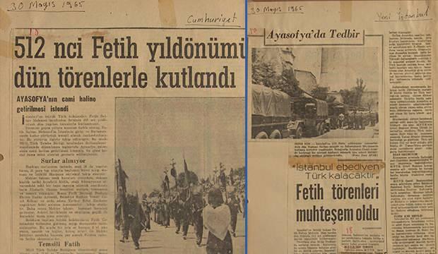 <p>MTTB Başkanı Rasim Cinisli (18 Mart 1965-29 Kasım 1966) Döneminde 29 Mayıs 1965 tarihinde İstiklâl Savaşı dönemindeki İstanbul'undaki mitingler gibi büyük bir coşkuyla yapılan Fetih Mitingi ilk kıvılcım olur.</p>