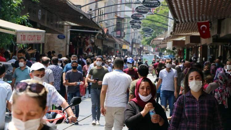 <p>Geçen hafta vaka artışının en yüksek olduğu iller: Mardin</p>  <p></p>