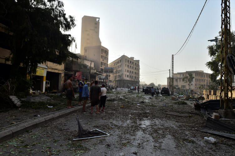 <p>Lübnan'ın başkentindeki Beyrut Limanı'nda patlayıcıların bulunduğu bir depoda büyük bir patlama meydana geldi.</p>