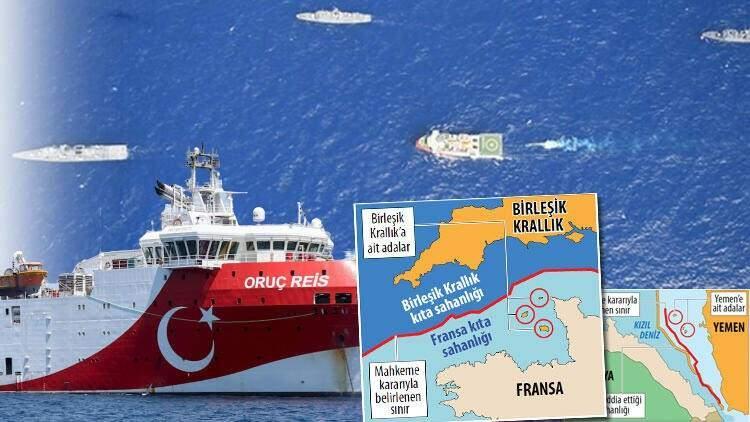 <p>Türkiye'ye 2 kilometreden daha yakın mesafedeki Meis Adası üzerinden on binlerce kilometrelik deniz alanını elde etmeye çalışan Yunanistan'a karşı Türkiye'nin haklarını ispat eden birçok uluslararası mahkeme kararı bulunuyor. Söz konusu mahkeme kararları, Yunanistan'ın anakarasından uzaktaki adalar üzerinde kıta sahanlığı talep edemeyeceğini ortaya koyuyor.</p>  <p></p>  <p>İşte Hürriyet gazetesinden İlker Sezer'in haberine göre Yunanistan'ın görmek istemediği o 4 örnek karar:</p>