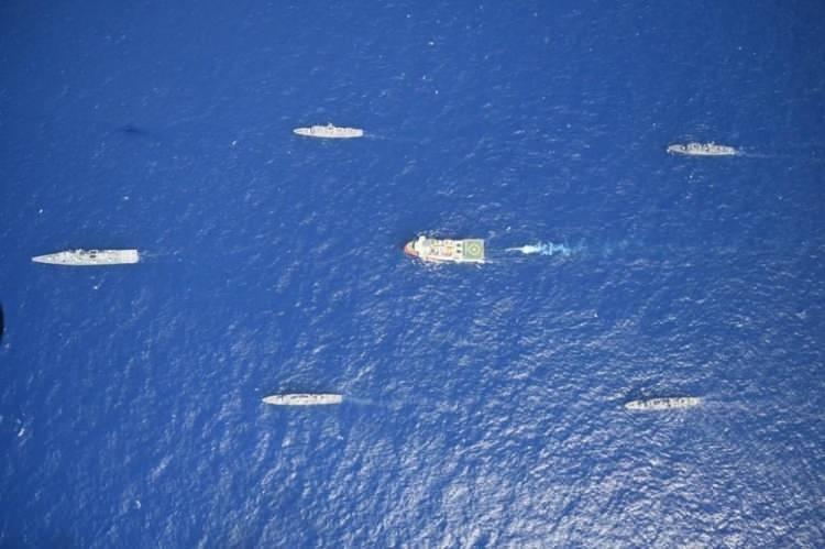 <p>MSB, Türkiye'nin Meis Adası yakınlarında NAVTEX ilan ederek, bölgede Oruç Reis gemisi ile sismik araştırma yapacağını duyurmasının ardından alınan tedbirlere ilişkin açıklamalarda bulundu. Açıklamada 'MTA ORUÇ REİS araştırma gemisine Türk Deniz Kuvvetleri tarafından refakat ve koruma sağlanmaktadır.' denildi.</p>  <p></p>