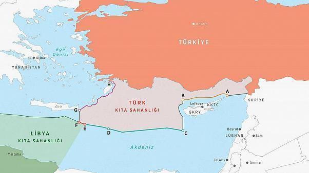 <p>ANLAŞMANIN ÖNEMİ</p>  <p></p>  <p>2011'de yavru vatan KKTC ile anlaşmasının ardından 2019'da Libya ile imzaların atılması hukuken Türkiye'nin Doğu Akdeniz'de yeni kıta sahanlığı ve MEB sınırlarının çizilmesini teminat altına almasıdır.</p>