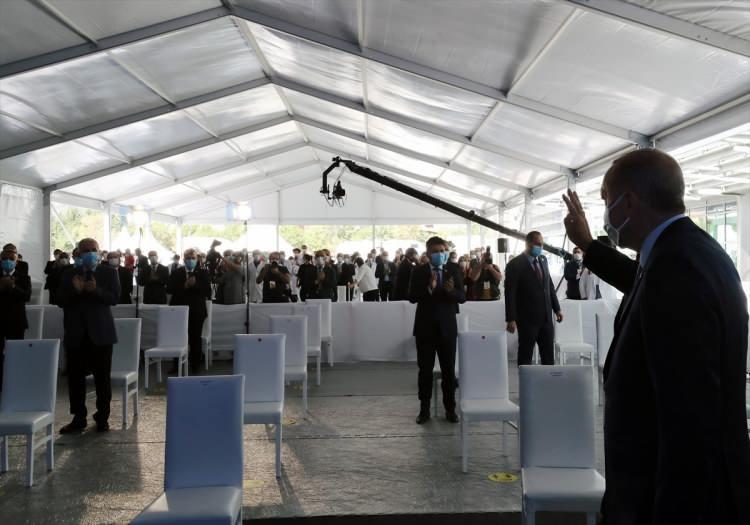<p>Türkiye Cumhurbaşkanı Recep Tayyip Erdoğan, Göztepe Şehir Hastanesi Açılış Törenine katıldı.</p> <p></p>