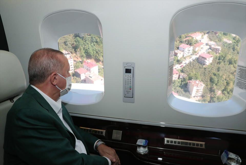 <p>Cumhurbaşkanı Recep Tayyip Erdoğan, Giresun Limanı'nda düzenenecek Su Ürünleri Av Sezonu açılışına katılmak için kente geldi.</p>