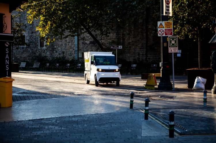Yeri kamyon yollara çıktı! Bursa'da üretildi