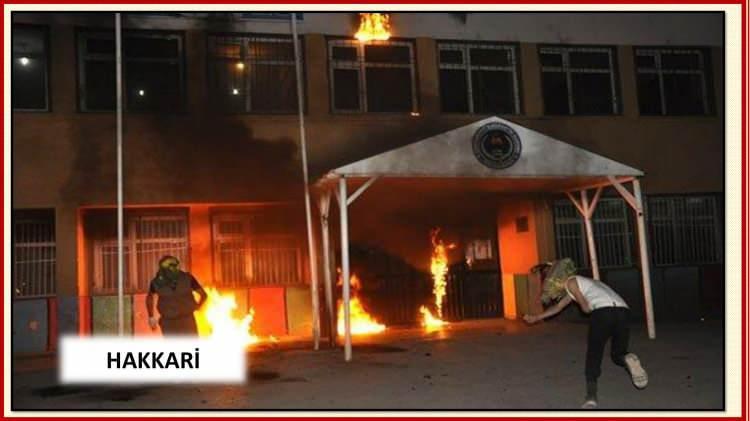 <p>HDP`nin çağrısı ile fitili ateşlenen olaylar sadece maddi hasara yol açmadı.</p>  <p></p>