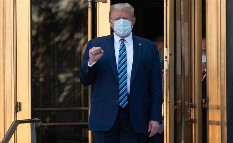 <p>ABD başkanının nasıl bir tedavi aldığı en çok merak edilen konulardan bir haline gelmişti.</p>  <p></p>