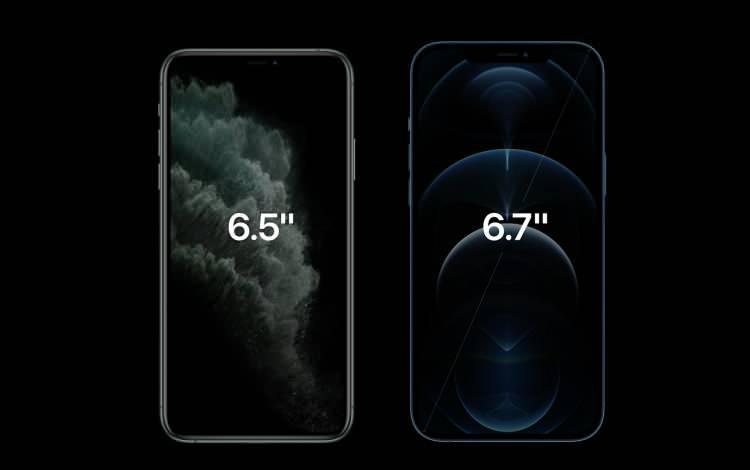 <p>Bunlar da iPhone 12 Pro modellerinin ekran büyüklükleri.</p>