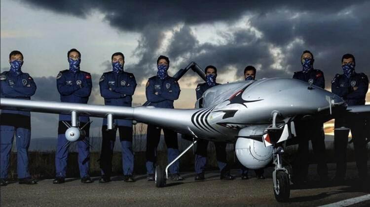 Türkiye'nin havadaki silahlı gözü SİHA'nın yeni imajı