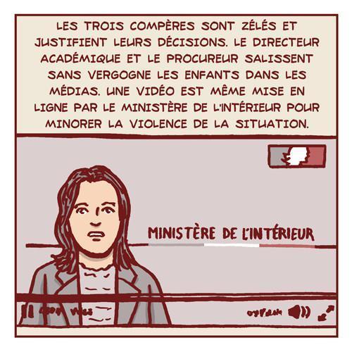 """<p>Çoçukların Louis Pasteur İlköğretim Okulu'ndaki bir soru karşısında, """"Hazreti Muhammed'e karşı yapılan karikatürleri sevmediklerini ve kötü olduklarını söylemeleri"""" öğretmenleri tarafından polise ihbar edilmişti. Polis de ihbarı """"terörizme destek"""" olarak algılamış ve 4 eve eş zamanlı baskın düzenlemişti.</p>"""