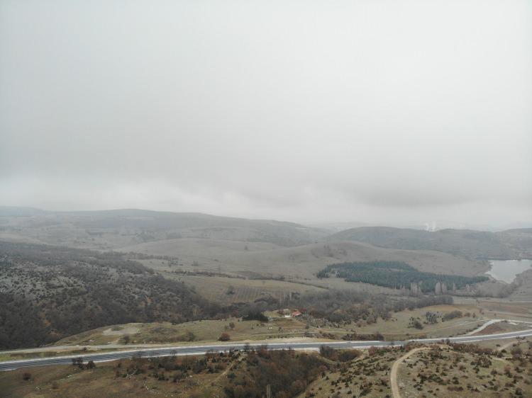 Türkiye orayı konuşuyor! Dev altın rezervinin bulunduğu saha havadan görüntülendi