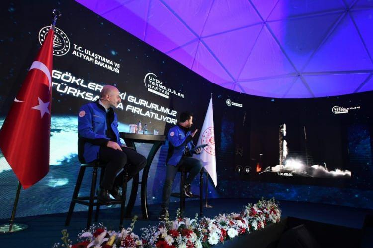 """<p>Bundan sonra uzay ve uydu çalışmaları artarak devam edecek"""" şeklinde konuştu.</p>"""