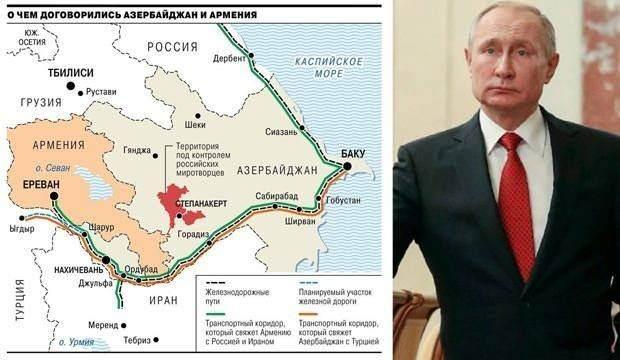 <p><strong>AZERBAYCAN-TÜRKİYE BAĞLANTISI</strong></p>  <p>Harita, Azerbaycan ve Türkiye arasında kurulacak bağlantıyı (turuncu çizgi) açıkça gösteriyor. Yeni projede ayrıca Ermenistan ve Rusya bağlantısı da var.</p>