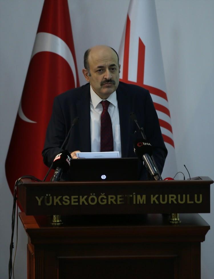 <p><strong>YÖK Başkanı Yekta Saraç yaptığı açıklamada şu ifadeleri kullandı;</strong></p>  <p></p>