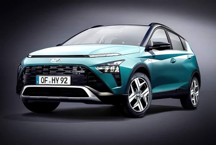 Hyundai Bayon tasarımı dikkatleri üzerine çekti!