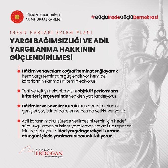 <p>İnsan Hakları Eylem Planımızın 2. Amacı: Yargı Bağımsızlığı ve Adil Yargılanma Hakkının Güçlendirilmesi</p>