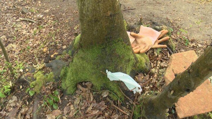 <p>Definecilerin, karşılıklı iki ağaca çaktıkları bir ağaç dalı ile oluşturdukları basit bir çıkrık sistemi ile kazdıkları toprağı dışarıya çıkarttıkları görüldü.</p>