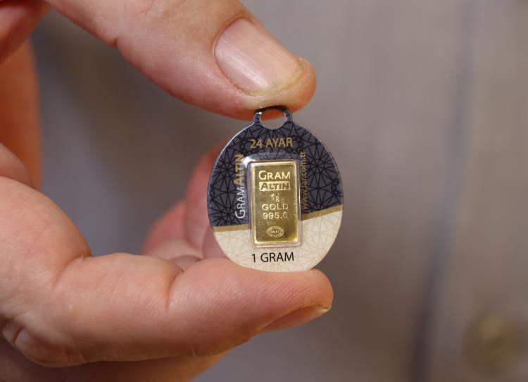 Gram altın bu yılın zirvesinde