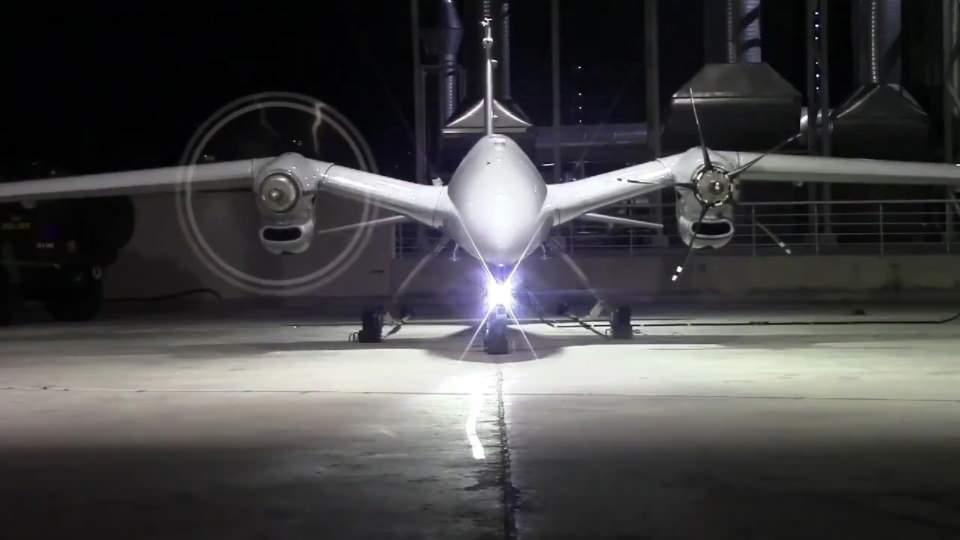 5,5 tonluk dev insansız hava aracı 'Akıncı TİHA'da geri sayım başladı
