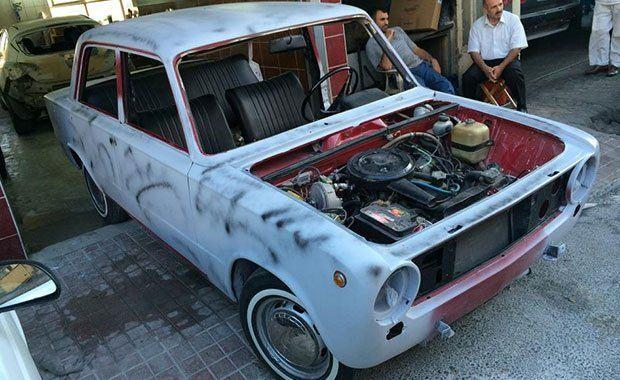 1974 model hurda Murat 124 son hali! Görenleri şaşkına çevirdi!