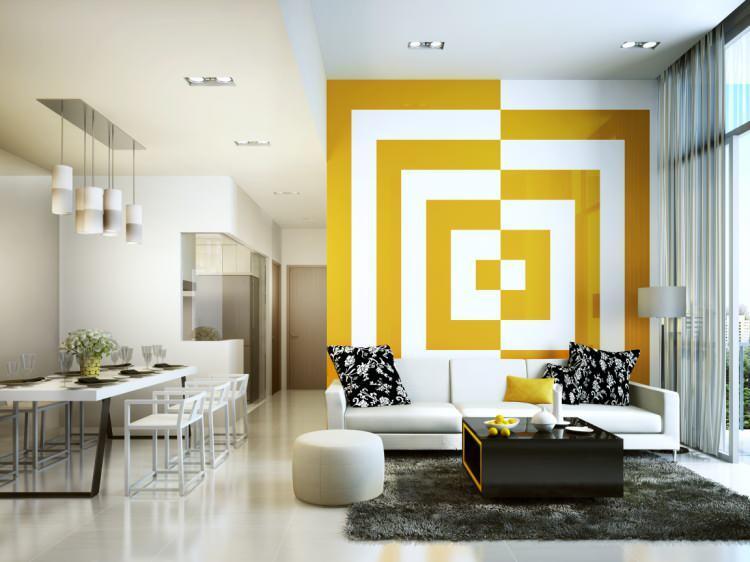 Ev dekorasyonunda geometrik desenler nasıl kullanılır?