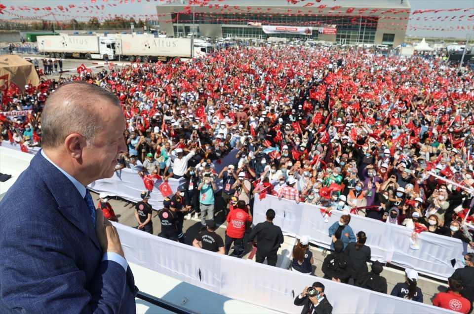 Cumhurbaşkanı Erdoğan Hatay'da