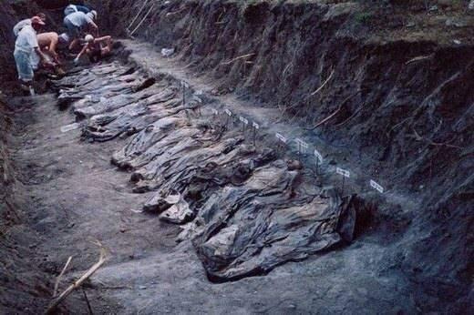 <p>1995 yılının Temmuz ayında Sırp güçleri sistematik olarak yürüttükleri katliamlarda sadece Srebrenitsa'da beş gün içinde 8.372 Boşnak'ı öldürdü, yüzlerce kadın ve küçük yaştaki kız çocuğuna tecavüz etti. Bir gün içerisinde 20.000'in üzerinde mülteci Srebrenitsa'dan zorla çıkarıldı.</p>