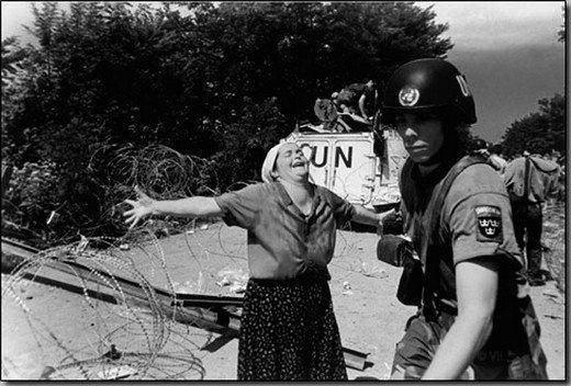 <p>Bosna Savaşı'nın bilançosu</p>  <p>Bosna'da üç buçuk yıl devam eden savaşta 312.000 kişi hayatını kaybetti, 2 milyon kişi evini terk etmek zorunda kaldı.</p>
