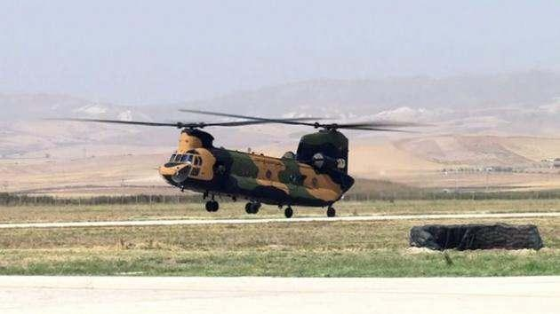 <p>ABD yapımı olan heikopterler 7500 litre kapasiteye sahip.</p>
