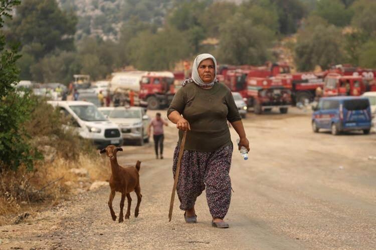 <p>MARMARİS-DATÇA YOLUNA TEHDİT</p>  <p>Muğla'nın Marmaris ilçesinde 29 Temmuz'da çıkan orman yangına müdahale çalışmaları Asparan mevkii, Turunç ve Osmaniye mahallelerinde yoğunlaştı. Alevler Marmaris-Datça karayoluna da yaklaştı. Trafiğe kapatılan karayolunda, bir süre sonra araçların kontrollü olarak geçişine izin verildi.</p>