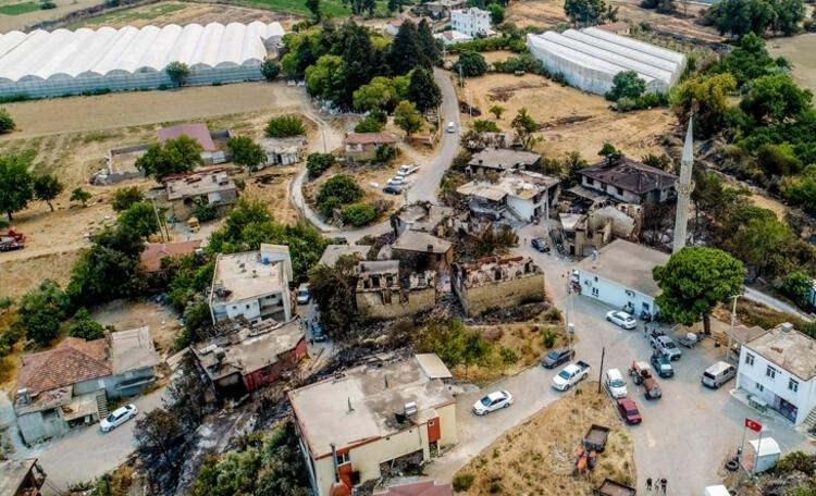 <p>AZERBAYCAN'DAN YANGIN SÖNDÜRME ORDUSU</p>  <p>Türkiye'nin orman yangınlarıyla mücadelesine, Rusya ve Ukrayna yangın söndürme uçağı, Azerbaycan ise 500 kişilik yardım ordusu ve helikopterlerle destek vermeye çalışıyor. Azerbaycan Olağanüstü Haller Bakanlığına bağlı ekiplerden 100 kişilik ilk grup, önceki gece Dalaman'a ulaştı ve dün söndürme çalışmalarına aktif destek verdi.</p>
