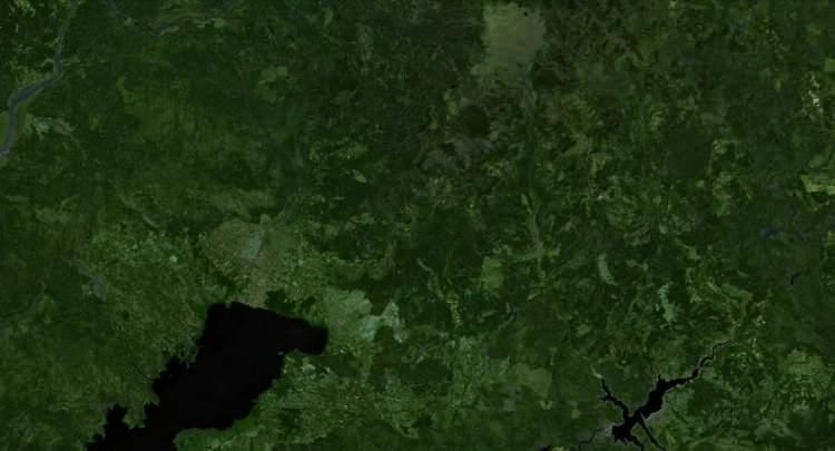 <p><strong>KÖYCEĞİZ - ÖNCESİ<br /> </strong><br /> Muğla'nın Köyceğiz bölgesinde ait 1 Ağustos tarihli uydu görüntüsü.</p>